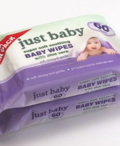 JUST BABY |Super Soft Baby Wipes with Aloe Vera